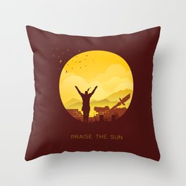 Solaire (Dark Souls) Throw Pillow