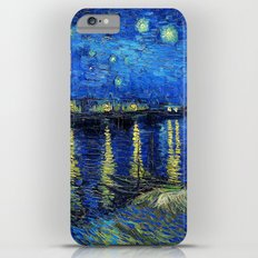 Starry Night Over the Rhone by Vincent van Gogh iPhone 6 Plus Slim Case