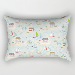 Summer On The Islands Rectangular Pillow