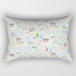 Summer On The Islands Rectangular Pillow