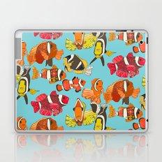 clownfish blue Laptop & iPad Skin