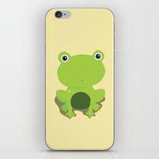 Green Frog iPhone & iPod Skin