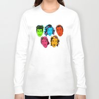 one direction Long Sleeve T-shirts featuring One Direction by GirlApe