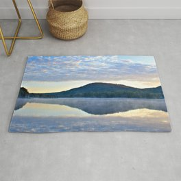 Know and Remember:  Reflections on Lake George Rug