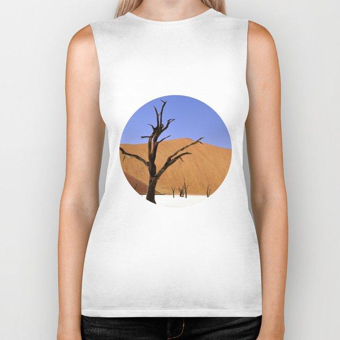 desert tree 4 Biker Tank