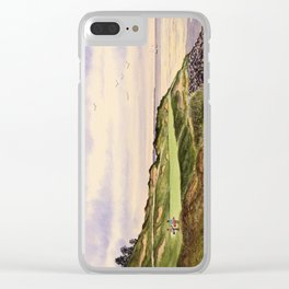 Whistling Straits Golf Course Hole 7 Clear iPhone Case