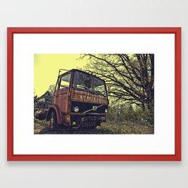 truck Framed Art Print