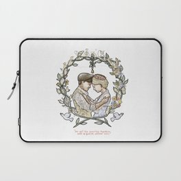 """Illustration from the video of the song by Wilder Adkins, """"When I'm Married"""" (no names on it) Laptop Sleeve"""