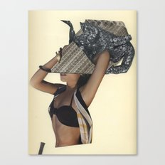 I hate it when she just randomly says french words...I mean she's from Ohio. Canvas Print