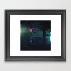 UMBC Framed Art Print