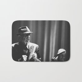 Leonard Cohen concert photo Bath Mat