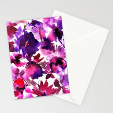 Sara Floral Pink Stationery Cards