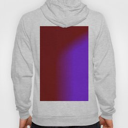 Ombre in Burgundy Purple Hoody