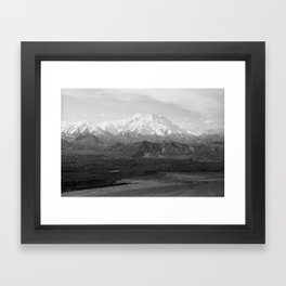 Mt McKinley Framed Art Print