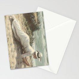 Summer on The Dunes - Niels Frederik Jensen Stationery Cards
