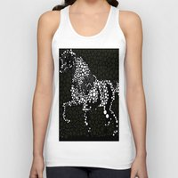 horse Tank Tops featuring Horse  by Saundra Myles