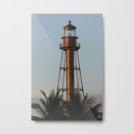 Sanibel Light Metal Print
