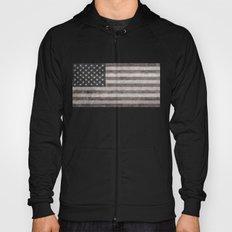 American flag, Retro desaturated look Hoody
