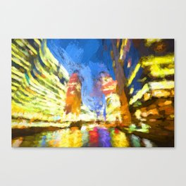 Down the River Canvas Print