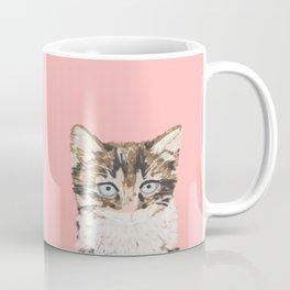 Kitten cutest pastel gift for valentines day cat pet friendly furry friend fur baby kittens animal Coffee Mug