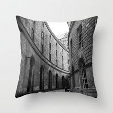 What's Around the Corner? Throw Pillow