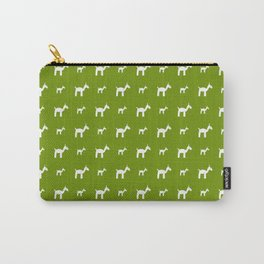 Llama 1- Green Carry-All Pouch