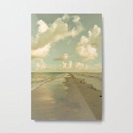 Clouds and Sea Metal Print