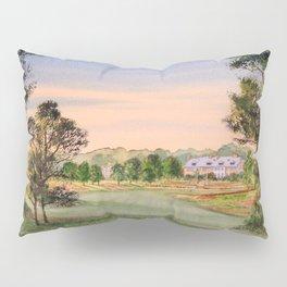 Hamilton Farm Golf Club Highlands Course 18th hole Pillow Sham