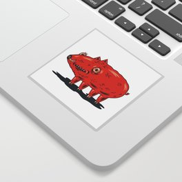 Haifa Pig Sticker