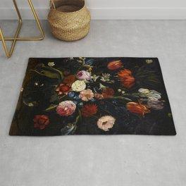 "Jan van Kessel the Elder ""Floral still life"" Rug"