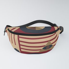 Wheel and eyes Fanny Pack