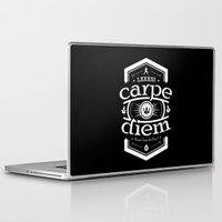 carpe diem Laptop & iPad Skins featuring Carpe Diem by 83 Drops
