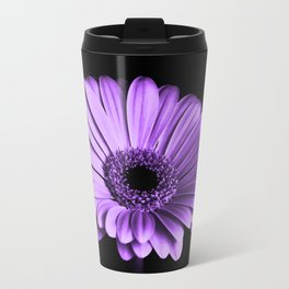 Purple Chrysanthemum Travel Mug