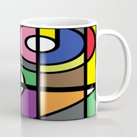 window Mugs featuring Window by Akehworks