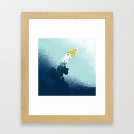 Intelligent Inker - Cranky Cuttlefish Framed Art Print