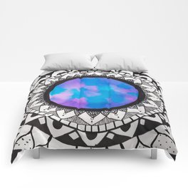 Water Color Mandala Comforters
