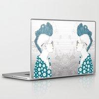 punk Laptop & iPad Skins featuring Punk by katiwo