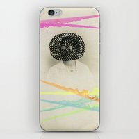 led zeppelin iPhone & iPod Skins featuring Led Contrast by Naomi Vona