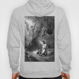 Gustave Dore - Jesus suffers agony in the garden of Gethseman Hoody