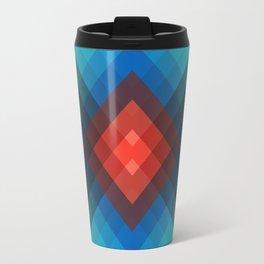 Colorful bands V Travel Mug