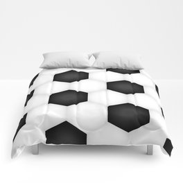 Soccer (Football) Ball pattern Comforters