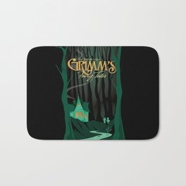 Grimm's Fairy Tales by The Brothers Grimm Bath Mat