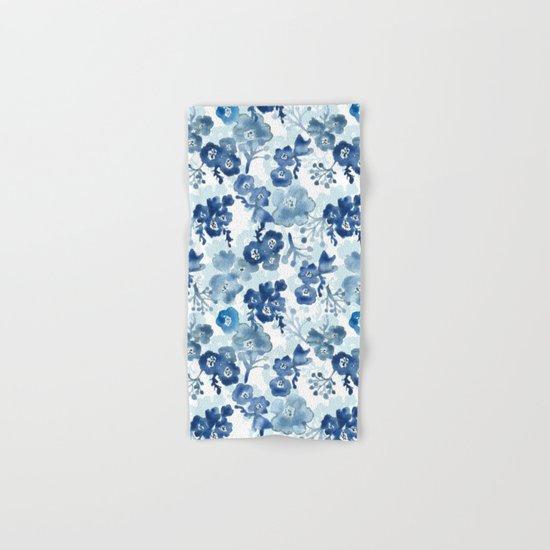 Blooms of Ink Hand & Bath Towel