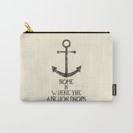 Where The Anchor Drops Carry-All Pouch