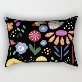 Mod Garden Rectangular Pillow