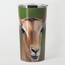 Female Impala, Africa wildlife Travel Mug