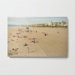 Manhattan Beach Metal Print