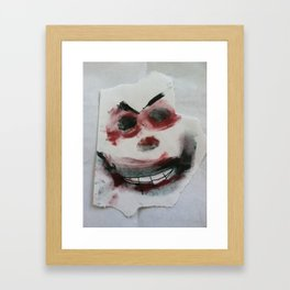Mr. Kreepy D. Klown Framed Art Print