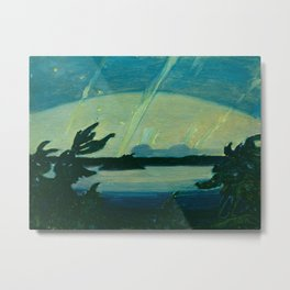 J.E.H. MacDonald Aurora, Georgian Bay, 1931, Canadian Art Metal Print
