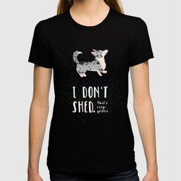 Corgi Glitter - Cardigan Welsh Corgi T-shirt